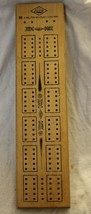 Vintage E. S. Lowe Milton Bradley Cribbage Board Used with Pegs - $14.95