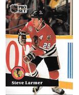 Steve Larmer ~ 1991-92 Pro Set #49 ~ Blackhawks - $0.05
