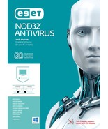ESET NOD32 Antivirus 2018,1 / 3 PCs for 1 Year- Nepal's License in eBay Message - $9.09 CAD - $10.29 CAD