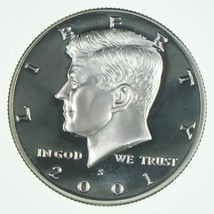 2001 S Kennedy Proof 50C-Uncirculated-Free Shipping - $9.89