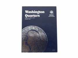 Whitman Coin Folder/Album, Washington Quarter # 1,1932-1947 - $5.99