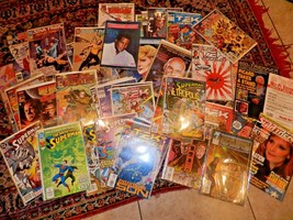 LOT OF 50 SCI FI COMIC BOOKS, MOSTLY STAR TREK ALL IN PROTECTIVE SLEEVES - $26.99