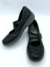 Aravon By New Balance 9 AA Revshow Black Mary Jane Leather Shoes - $27.99
