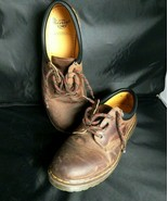 Dr. Martens Men's  US 12 Crazy Horse Brown Leather Shoes Air Wair medium... - $51.43