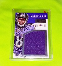 NFL BRESHAD PERRIMAN BALTIMORE RAVENS 2015 PANINI MAMMOTH JERSEY RELIC R... - $2.69