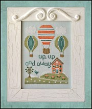 Up Up and Away cross stitch chart Country Cottage Needleworks - $7.20
