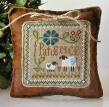 Patience Sheep Virtues 2013 Series #7 cross stitch chart Little House Needlewo - $5.40