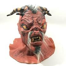 Vintage 1991 Rubies Demon Horror Hollowen Creepy Mask - £32.98 GBP