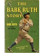the babe ruth story book 1948 bob considine new york yankees - $15.99