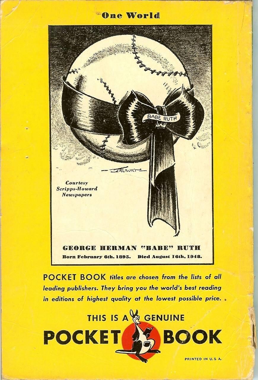 the babe ruth story book 1948 bob considine new york yankees