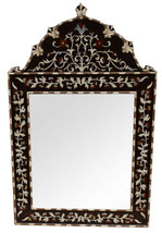 Handcrafted Moroccan Wood Mirror Frame/Wall Hanging Mirror/Wall Décor - $361.35