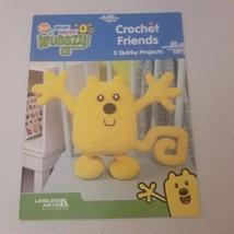 Wow Wow Wubbzy Crochet Friends 3 projects Leisure Arts - $9.03