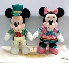 Tokyo Disney Land 2018 Ambassador Hotel Mickey & Minnie Plush Doll set E... - $181.17