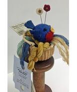 Bonnie Bluebird Button Buddies **NEW** pincushion kit JABC Just Another ... - $17.10