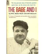 The babe and I book 1959 by mrs babe ruth w/bill slocum new york yankees - $9.99