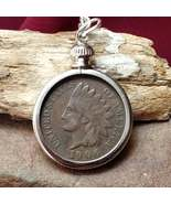 Fortune Finder Indian Head Penny Pendant Wealth & Riches Money Talisman ... - $80.00