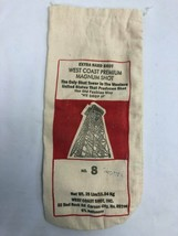 "West Coast Premium Magnum Shot No. 8 25eb Canvas Bag, Empty, 14"", GUC - $11.13"