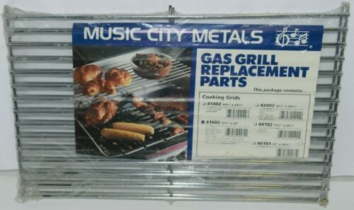 Music City Metals 41602 Chrome Steel Wire Rectangle Cooking Grid Set of 2