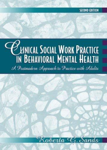 Primary image for Clinical Social Work Practice in Behavioral Mental Health: A Postmodern Approach