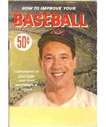 how to improve your baseball game bob feller motorola book indians - $9.99