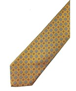 "NEW BROOKS BROTHERS MAKERS SILK Gold, Blue Tie 59"" - $18.95"