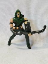 Green Arrow Figurine DC Comics Mcdonalds Toy 2016 excellent ‼LIQUIDATION‼ - $6.00