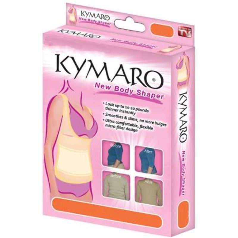 6x Seen on Tv Kymaro New Body Shapewear Top Only