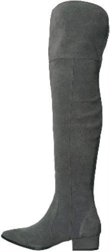 Splendid x Anthropologie Ruby Over the Knee Suede Boots in Slate Size 6