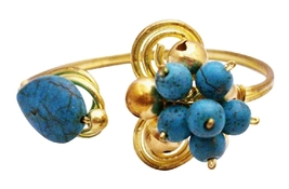 Top Quality High Fashion Jewelry At Affordable Gold Cuff Bracelet - $12.73