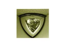 DOME MIRROR 90 DEGREE ACRYLIC INDOOR SAFETY SEC... - $22.51
