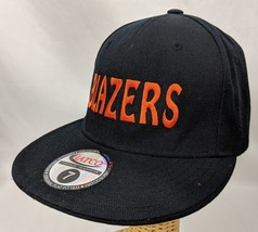 Blazer Manin 1 Ball Cap Trucker Hat Black Fitted Size 7 Hatco - $18.69