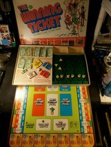 The Winning Ticket from Ideal (1977) Home Lottery Board Game Complete Ni... - $46.74