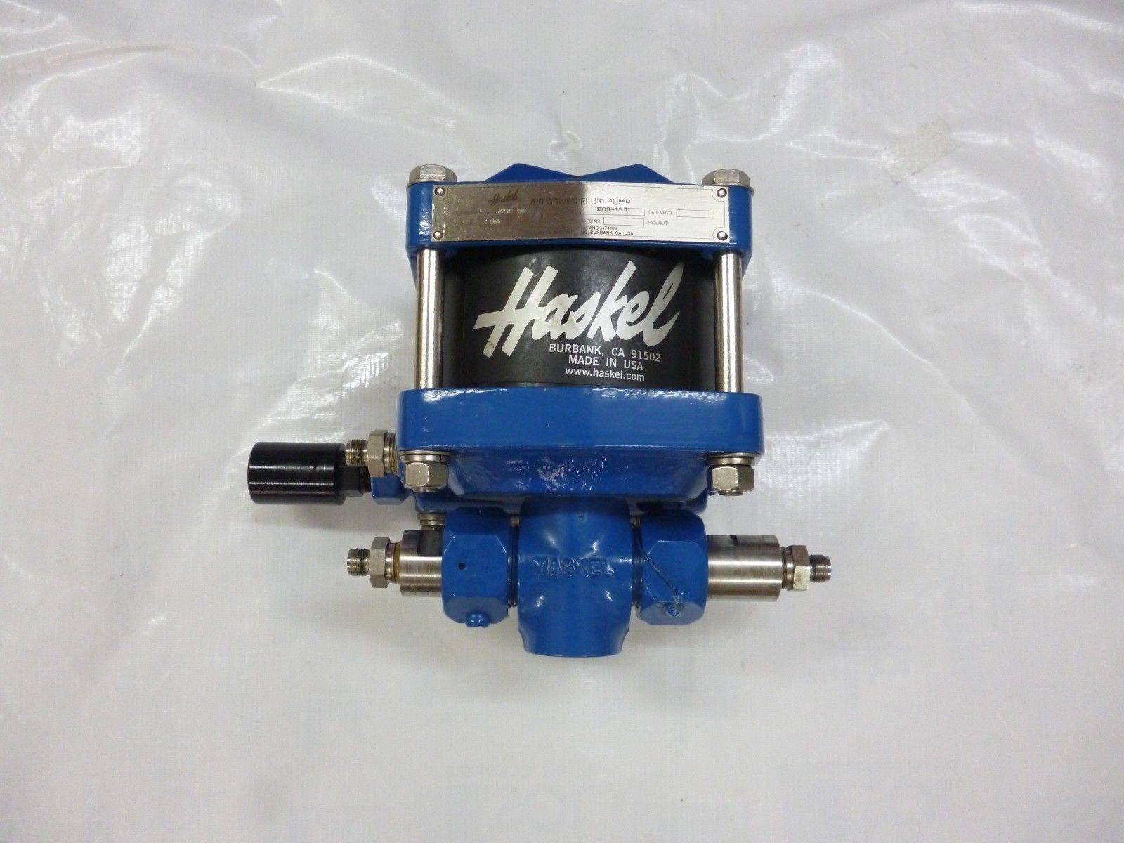haskel pump manual