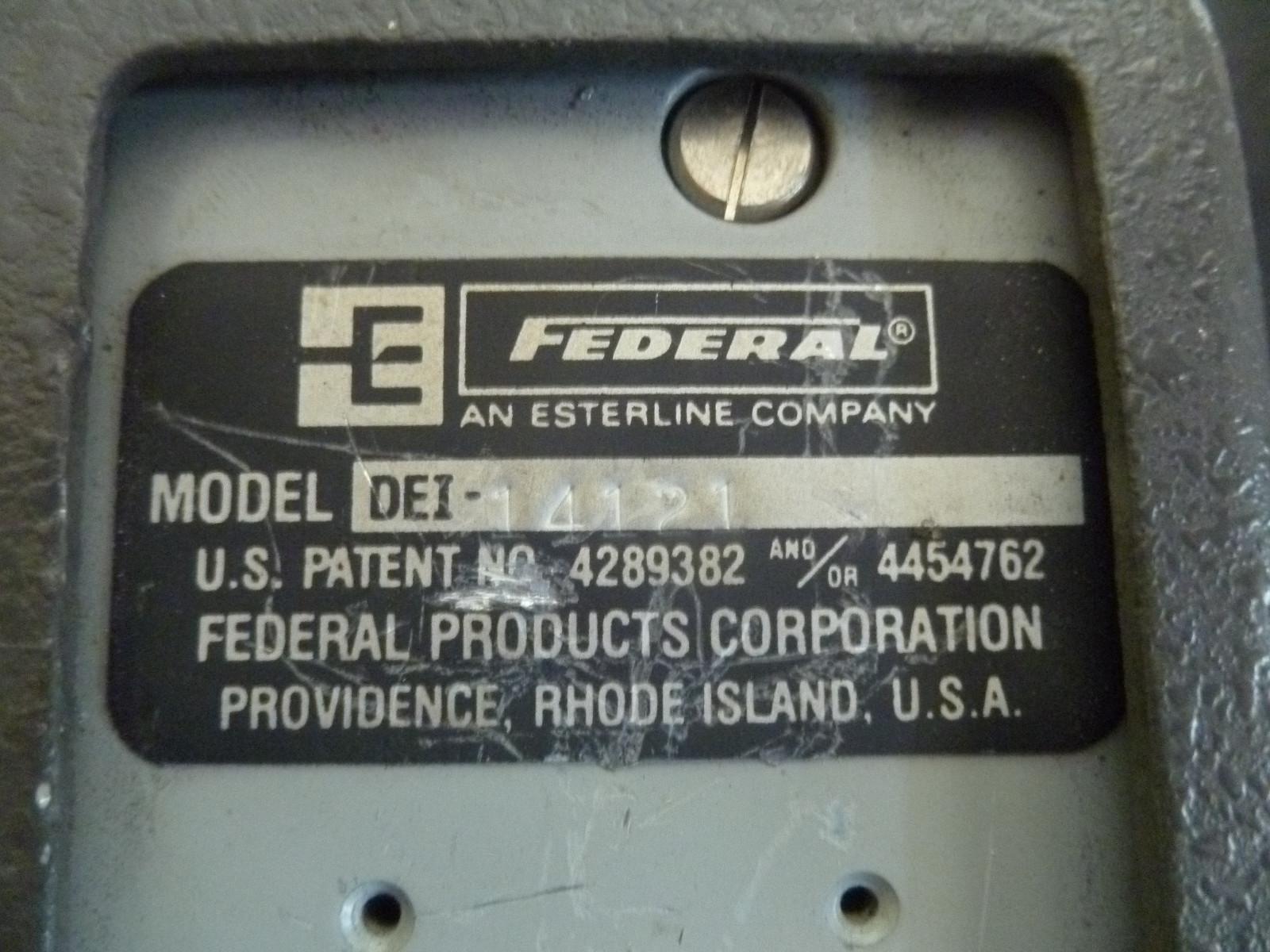 Federal Indicators Gages : Federal maxum digital indicator bore gauge gage