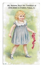 Victorian Trade Card Stolberg & Parks Furniture for the Masses Firecrack... - $8.99