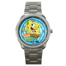 Spongebob Custom Sport Metal Men Watch  - $15.00