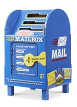 Melissa & Doug Stamp and Sort Wooden Mailbox Activity Toy [New] Wood Toy - $29.99