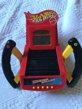 Vintage Hot Wheels Thunder Roller Handheld Racing Game 1999 Mattel ON OFF Sound - $24.23