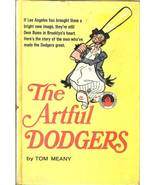 the artful dodger baseball book 1966 tom meany grosset sports library - $7.99