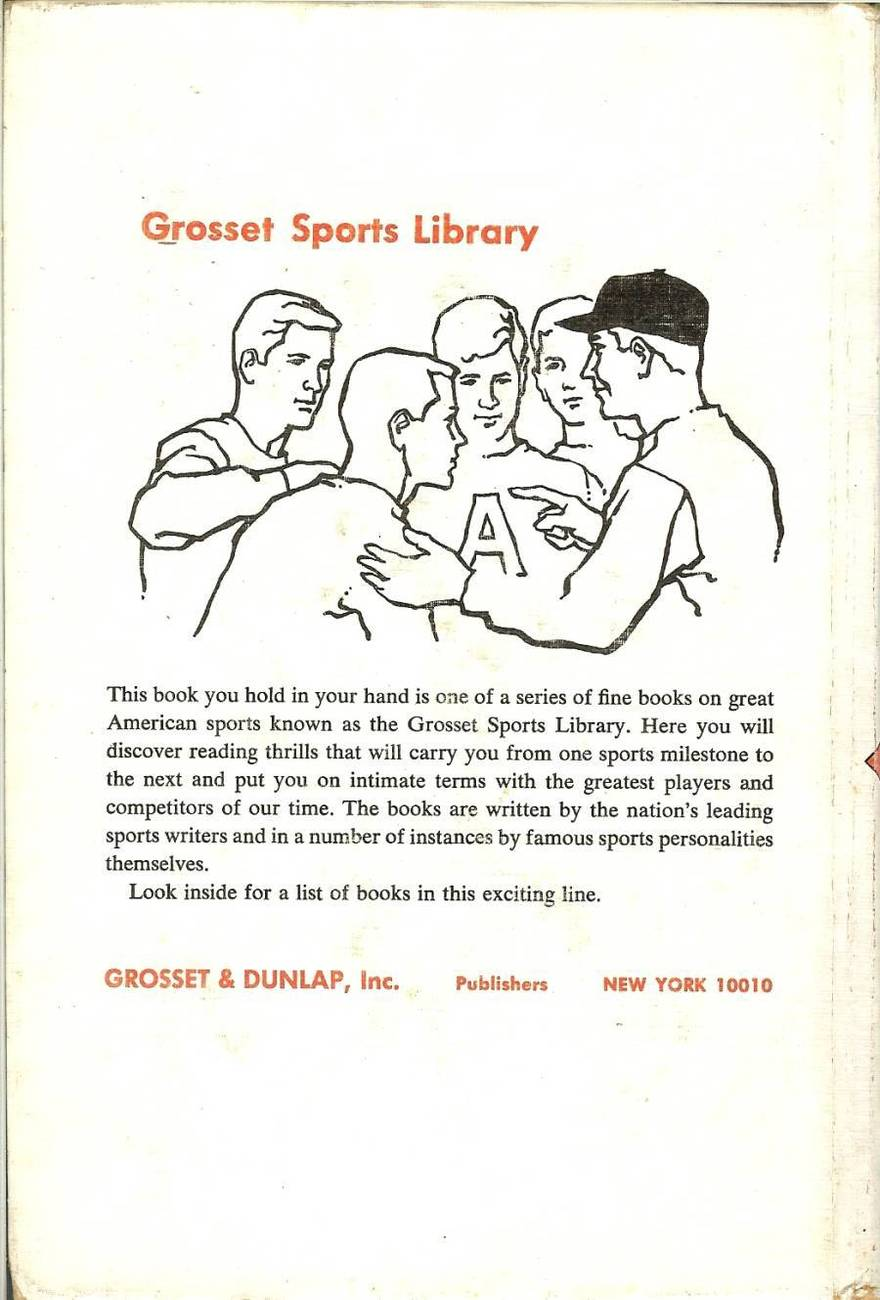 the artful dodger baseball book 1966 tom meany grosset sports library
