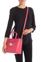 NWT! Cole Haan CHR11715 Lock Group Small Tote/Shoulder Bag in Teaberry Pink - $159.00