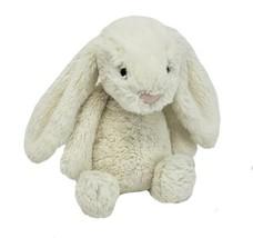 """11 """" Jellycat Bébé Bunny Rabbit Blanc/Crème Animal en Peluche Jouet Timide - $36.45"""