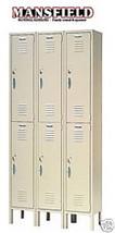 Nexel Capital Steel Locker Storage Gym School CS186KD Mansfieldfw - $310.00