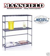 Nexel Container Rack Shelving Nexelon 18 X 48 X 54 Bins - $345.00