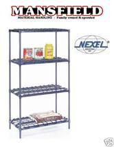 Nexel Heavy Duty Shelving Poly Z Brite 18 X 48 X 63 Bin - $315.00