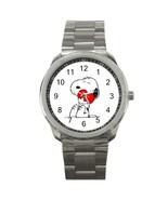NEW Snoopy Custom Sport Metal Men Watch  - $15.00