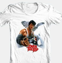 Over The Top T-shirt retro 80s classic movie cotton graphic tee Free Shipping image 1