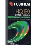 FUJIFILM Video Tape HQ120  - $4.95