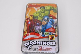 The Avengers Dominoes 28 Piece Set In Tin Box - $19.79