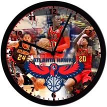 "Atlanta Hawks Homemade 8"" NBA Wall Clock w/ Battery Included - $23.97"